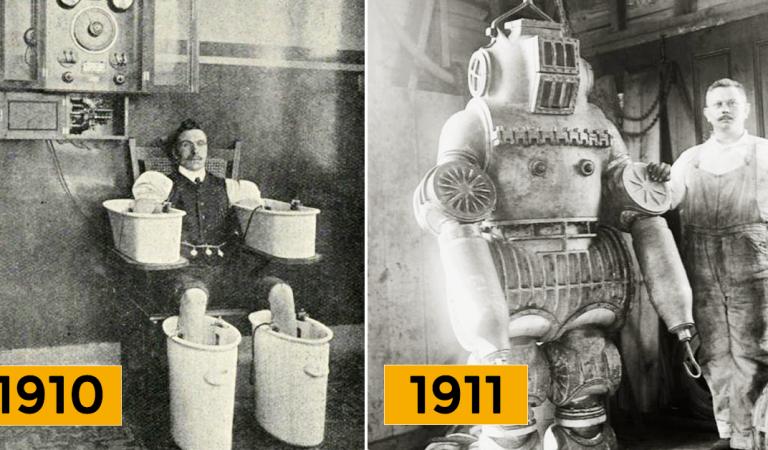 16 photos historiques et rares qui vous montreront le passé autrement