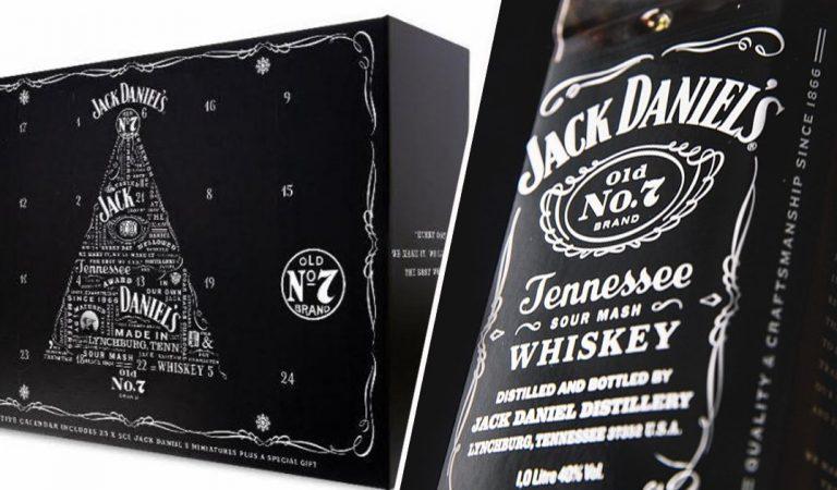 Jack Daniel's lance un calendrier de l'Avent avec 1,2 L de whisky dedans… Avis aux amateurs !