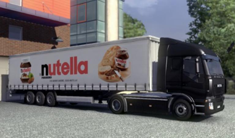 Il vole une remorque remplie de… 20 tonnes de Nutella et de Kinder Surprise