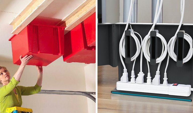 16 astuces pour organiser intelligemment votre maison