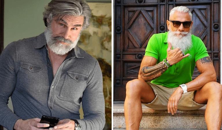 21 hommes dans la cinquantaine qui sont bien plus beaux que les gamins de 20 ans
