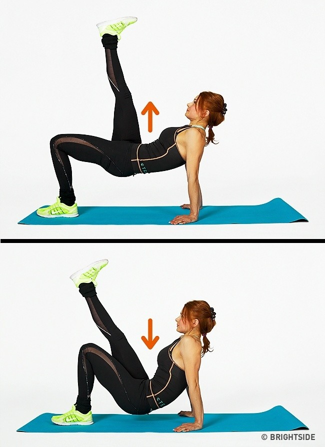 The 7 exercises that will transform your whole body in just 4 weeks 6