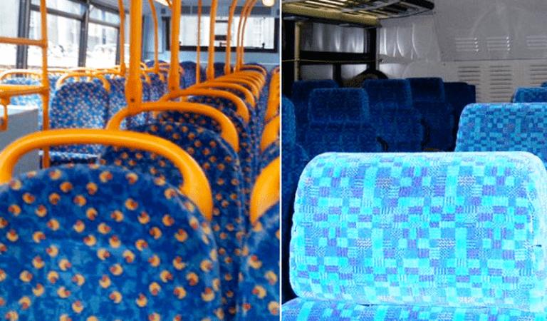 Savez-vous pourquoi les sièges des bus sont si colorés ?