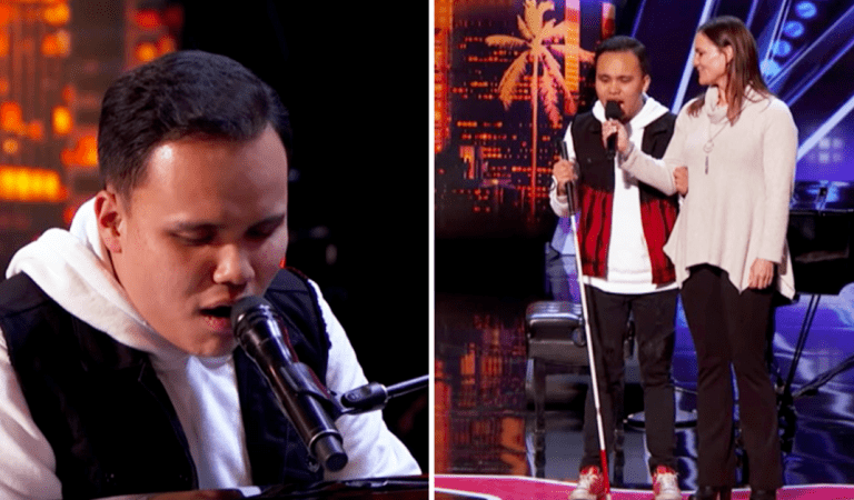 «America's Got Talent» : un candidat autiste et aveugle surprend tout le monde après s'être assis derrière le piano