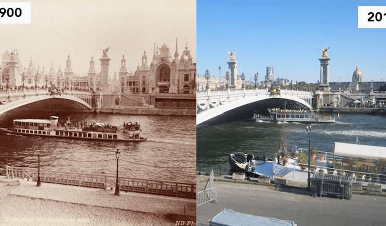 Paris avant et après : 16 lieux historiques qui ont évolué à travers les époques (photos)