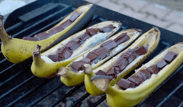 Bananes sur le BBQ: 3 recettes faciles à déguster cet été!