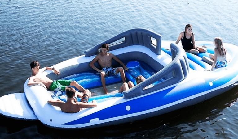 Ce yacht gonflable peut remplacer un bateau de luxe pendant l'été : Plus besoin de dépenser des fortunes