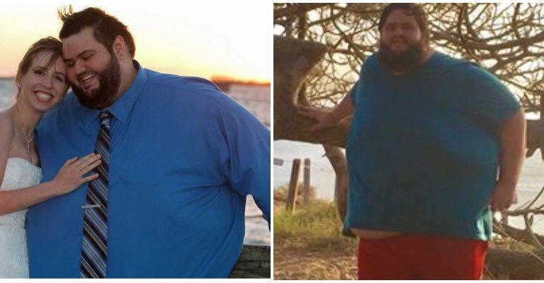 John pesait 245 kilos, il a perdu la moitié de son poids en 15 mois et devient méconnaissable