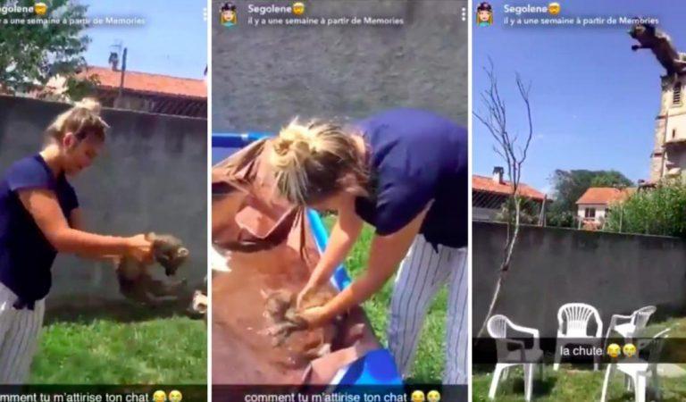 La vidéo de la honteen France: deux adolescentes se sont filmées en train de maltraiter un chat
