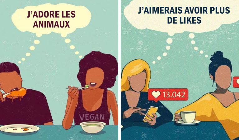 22 illustrations qui résument les problèmes de notre société