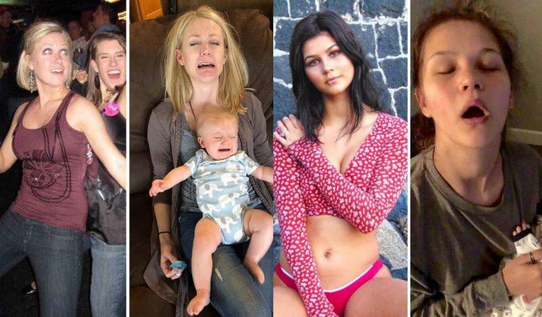 30 photos de parents «avant-après» avoir eu un enfant