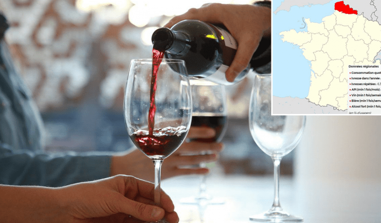 Le top des 10 régions françaises qui consomment le plus d'alcool
