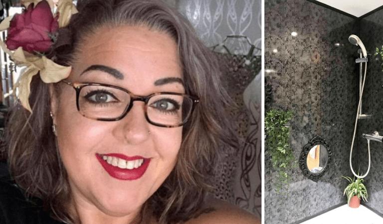 DIY : elle a transformé sa salle de bain en un paradis tropical avec seulement 130 euros en poche