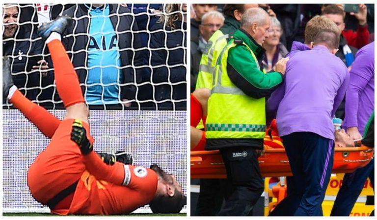 Football: Les images heurtantes de la blessure d'Hugo Lloris