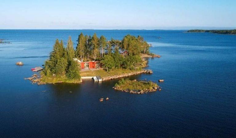Suède : une île paradisiaque se vend au même prix qu'un appartement à Paris