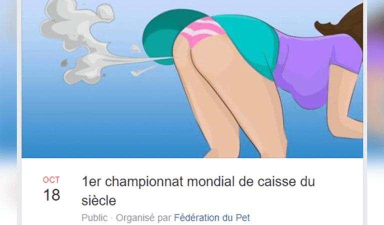 Le tout premier championnat du monde de pet en Belgique