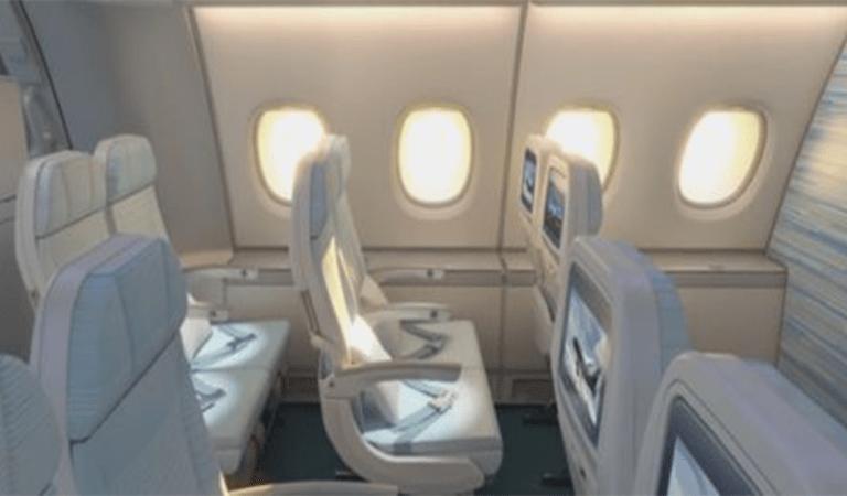 Pourquoi les sièges passagers et les hublots ne sont pas alignés dans les avions ?