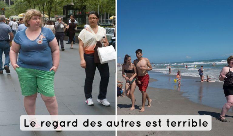 Elle immortalise les réactions des gens face à une personne obèse