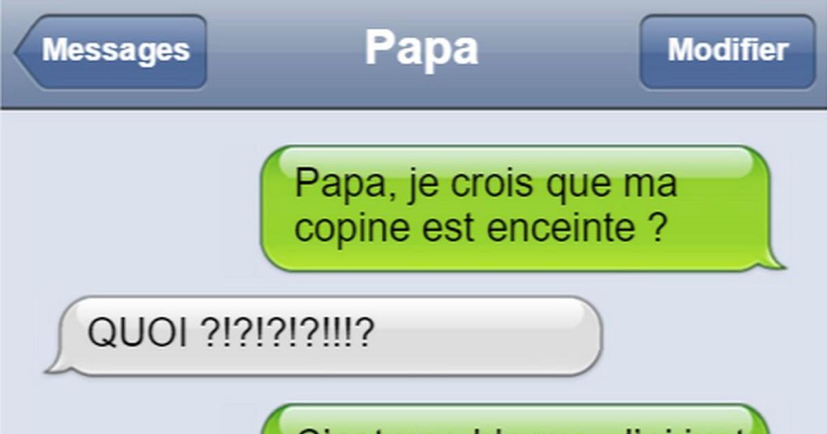 15 SMS drôles envoyés par les papas les plus cool du monde