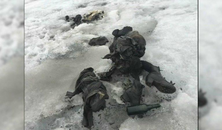 Un couple retrouvé dans un glacier 75 ans après: «Quand j'ai vu les souliers, j'ai dit 'c'est maman'»