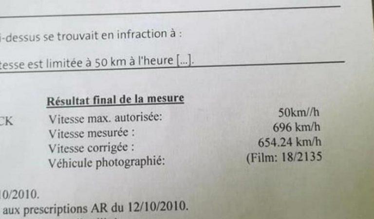 Excès de vitesse : un conducteur belge flashé à 696 km/h avec son Opel Astra