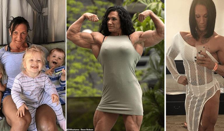 Pour vaincre sa timidité, cette femme de 48 ans est devenue accro au bodybuilding