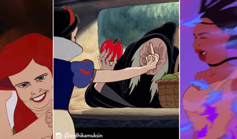 Andhika Muksin réécrit l'histoire des princesses Disney de manière plus réaliste