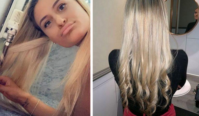 Elle a trouvé une technique infaillible pour boucler ses cheveux sans fer à boucler