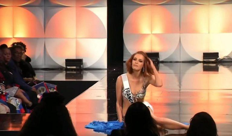 La belle gamelle de Maëva Coucke au concours Miss Univers : « J'ai vécu la pire hantise d'une Miss »