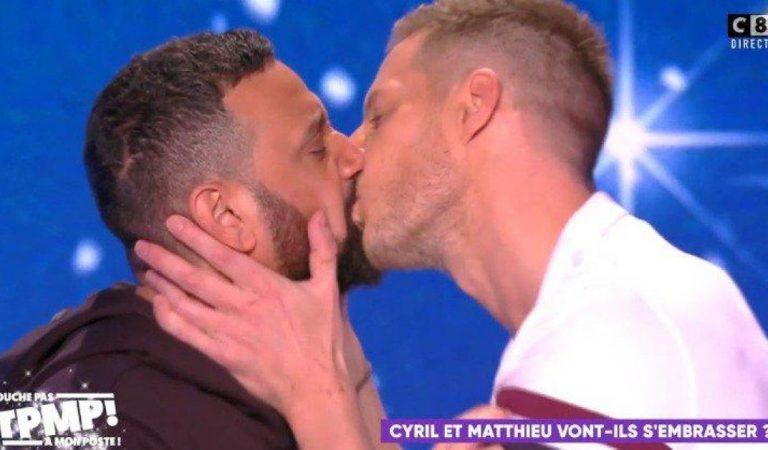 TPMP : Matthieu Delormeau a enfin embrassé Cyril Hanouna après plusieurs années d'attente