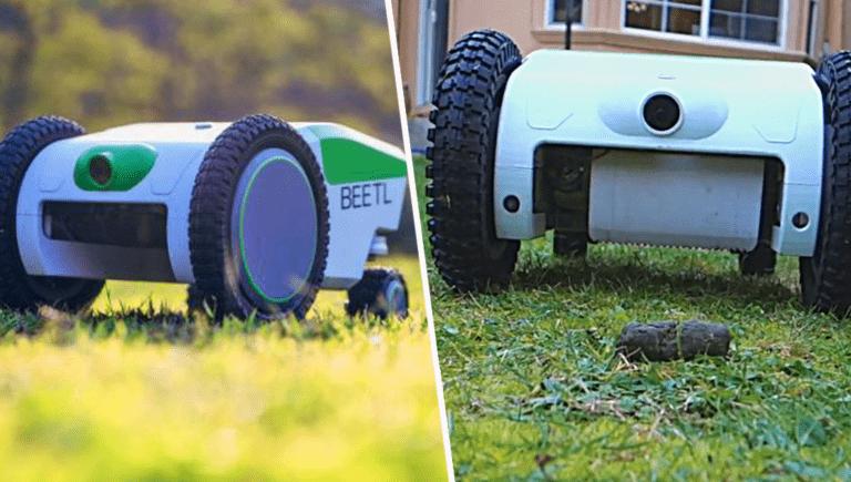 Beetl : ce robot intelligent détecte et ramasse automatiquement les excréments de votre chien