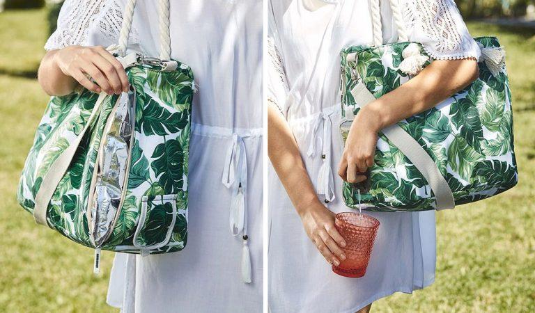 Les magasins Aldi vendent un sac à main avec un distributeur de vin intégré