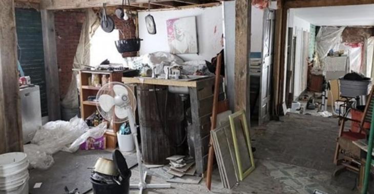 Une propriétaire dévoile des photos de sa maison pratiquement détruite par des locataires