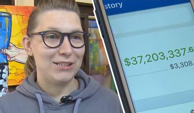 Ruth n'en croit pas ses yeux en découvrant 37 millions de dollars sur son compte en banque