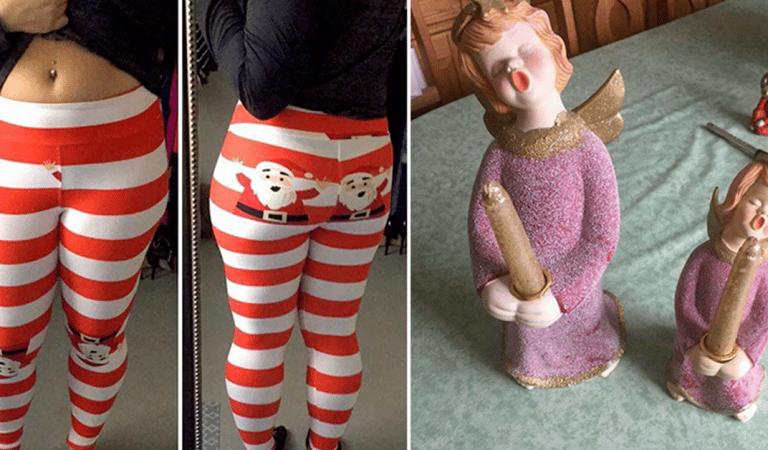 Les 18 pires décorations de Noël qui n'ont rien à faire à la maison