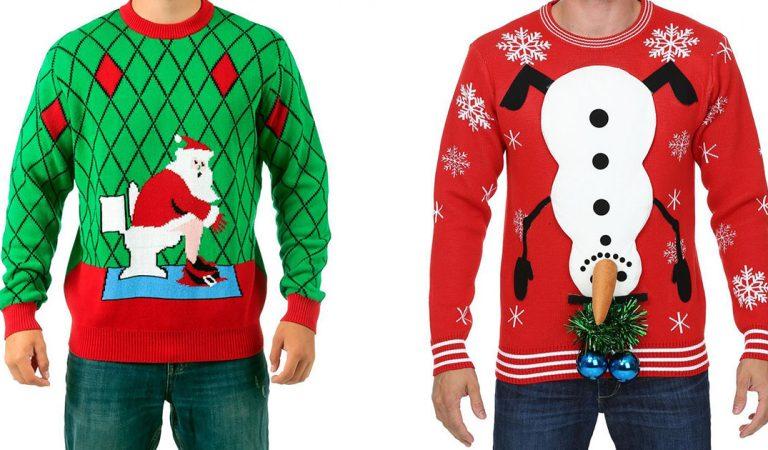 """Les supermarchés Walmart contraint de s'excuser après avoir vendu des pulls de Noël pour """"adultes"""""""