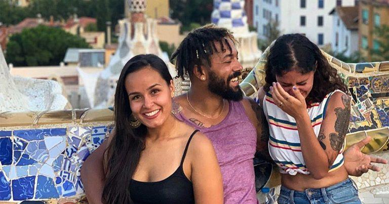 Jak, Pamela et Priscilla forment un trouple, un couple à trois, «plus de plaisir, plus dargent