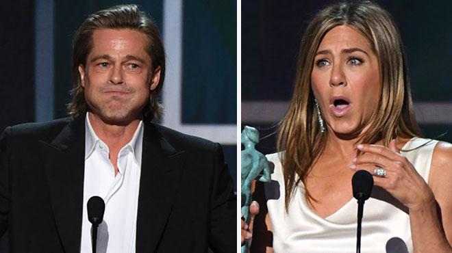 Brad Pitt et Jennifer Aniston en couple : les rumeurs circulent qu'« ils ont rallumé la flamme »