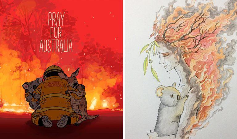 Australie : 25 photos qui rendent hommage aux animaux morts dans la catastrophe