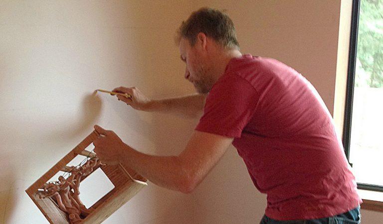 Ce papa a mis 18 mois pour transformer la chambre de sa fille en un monde magique