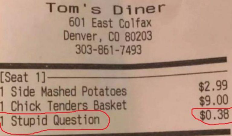 États-Unis : un restaurateur facture les « questions idiotes » de ses clients