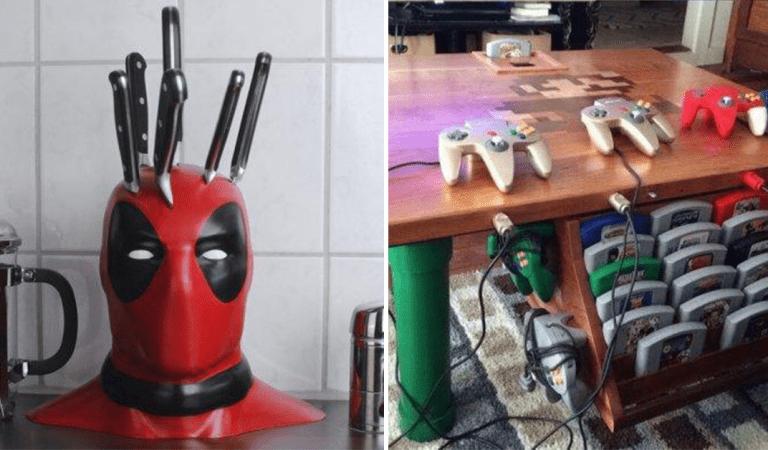 13 créations de geek à couper le souffle