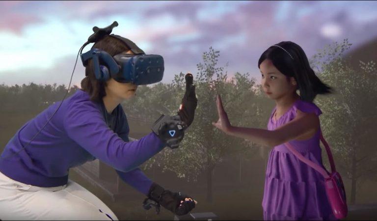 Réalité virtuelle : elle revoit sa fille morte il y a 3 ans dans son parc préféré