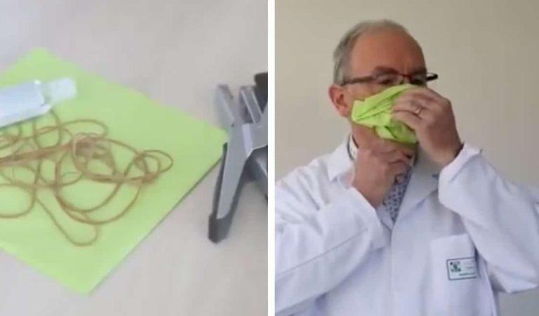 Coronavirus : voici comment fabriquer un masque en quelques minutes sans machine à coudre