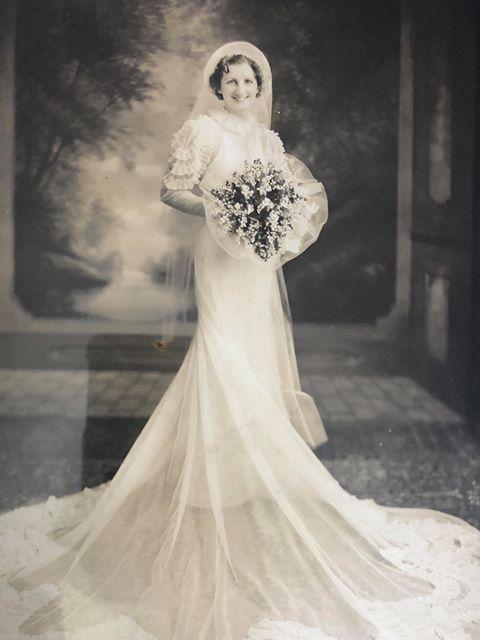 Jennie Stejna robe de mariée 1938