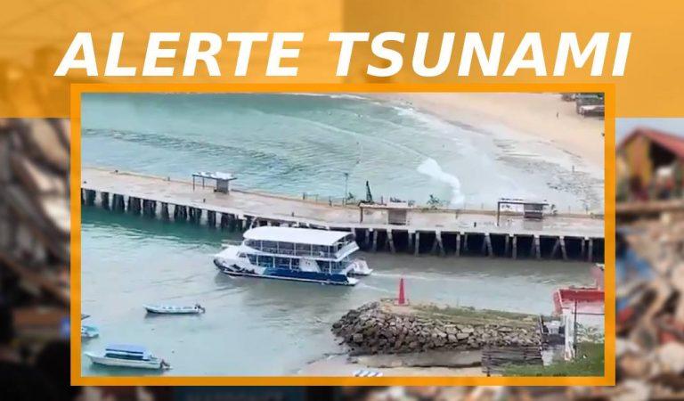 Alerte tsunami au Mexique : un puissant séisme provoque des scènes de panique (vidéo)