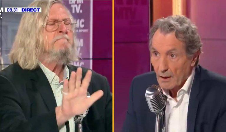 """Didier Raoult s'emporte face à Jean-Jacques Bourdin : """"Je m'en fous de vous"""" (Vidéo)"""