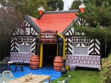 location bar gonflable jardin