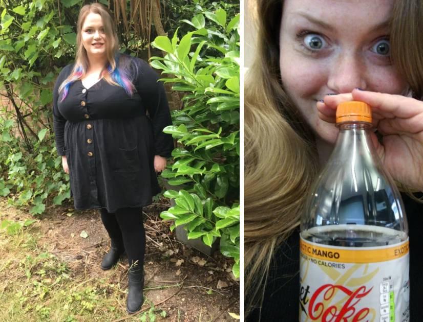 Gillian Fisher et sa bouteille de Coca.
