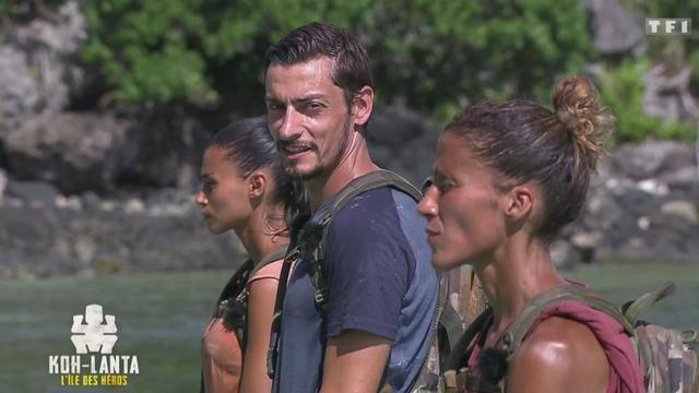Claude Koh lanta l'île des héros  avec Naoil et Inès
